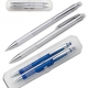 Set de instrumente de scris in etui transparent - 13526