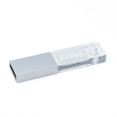 Stick USB din acril si metal cu LED - CM1164 poza (1)