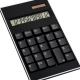 Calculator din plastic negru - 0242