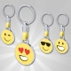 Breloc metalic cu forma de smiley - AP781416