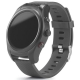 Ceas smart watch de mana cu bratara din silicon si GPS integrat - 97429
