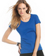 Tricou colorat de dama - Exact 190 Top TW041