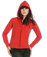 Hanorac de dama cu gluga - HOODED FULL ZIP WW642 poza (1)